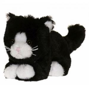 Teddykompaniet Katt Dreamies Svart 14 cm