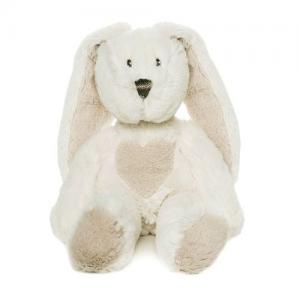 Teddykompaniet Teddy Cream Bunny Small 33 cm White