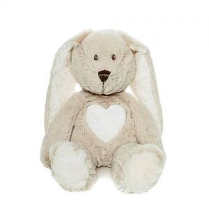 Teddykompaniet Teddy Cream Kanin Mini 24 cm Grå