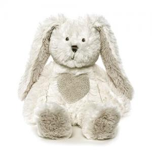 Teddykompaniet Teddy Cream Bunny Mini 24 cm White
