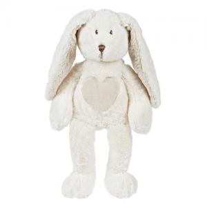 Teddykompaniet Teddy Cream Kanin Stor 51 cm Vit