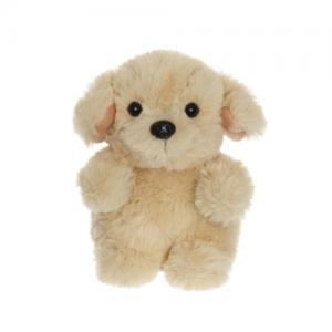 Teddykompaniet Teddy Sitting Dog Beige 12 cm
