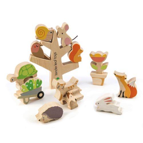Tender Leaf Toys Balance Figures Animals