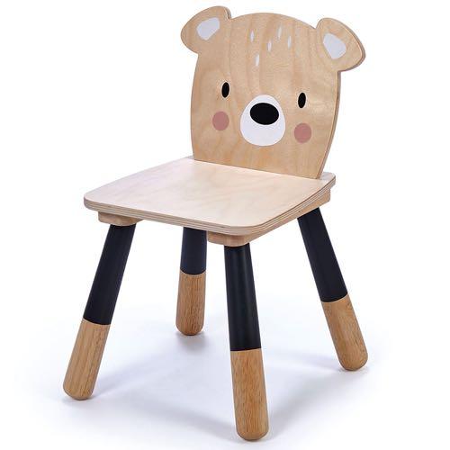 Tender Leaf Toys Chair Bear - Wood