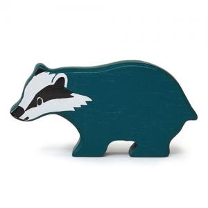 Tender Leaf Toys Wooden Animal Badger