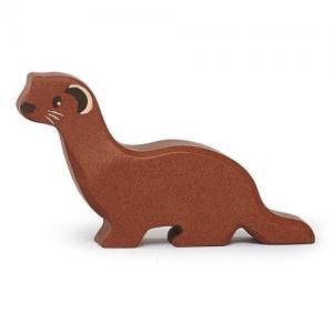 Tender Leaf Toys Wooden Animal Weasel