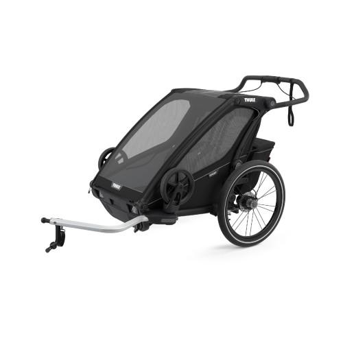Thule Chariot Sport 2 Multisportvagn - Midnight Svart