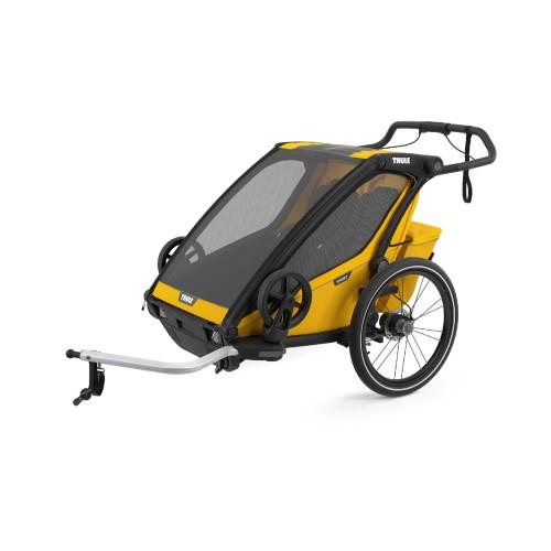 Thule Chariot Sport 2 Multisportvagn - Spectra Gul