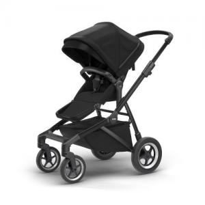 Thule Sleek Black on Black Stroller (Black Chassis Black Fabric)