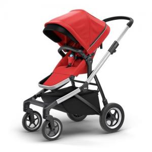 Thule Sleek Sittvagn - Energy Red
