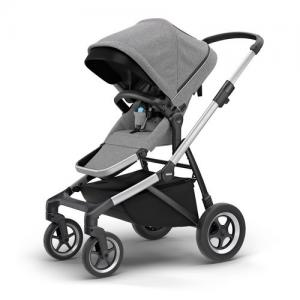 Thule Sleek Grey Melange Stroller