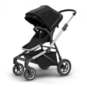 Thule Sleek Stroller ALU / MIDNIGHT BLACK