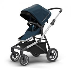 Thule Sleek Stroller ALU / NAVY BLUE