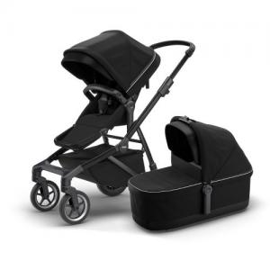 Thule Sleek incl. Bassinet BLACK / MIDNIGHT BLACK