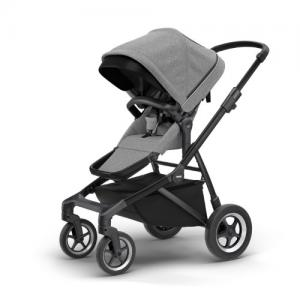 Thule Sleek Stroller BLACK / GREY MELANGE