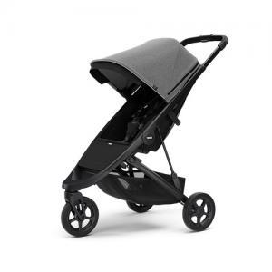 Thule Spring Stroller - Black Chassi & Grey Melange Canopy