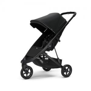 Thule Spring Stroller - Black Chassi & Midnight Black Canopy