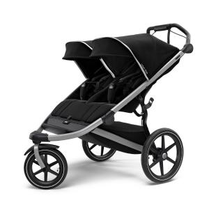 Thule Urban Glide 2 Double - Alu Chassis / Jet Black (Ny)