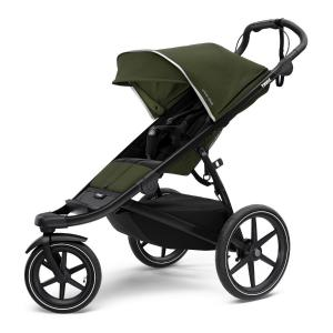 Thule Urban Glide 2 Jogging Stroller - Black Chassis / Cypress Green (Ny)