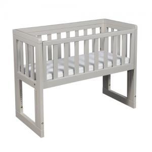 Troll Möbler Bed Side Crib Oslo Soft Grey