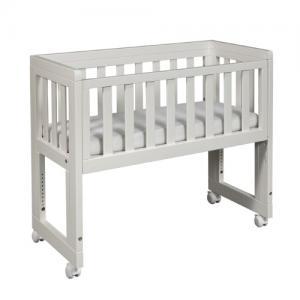 Troll Möbler Bed Side Crib Oslo Vit