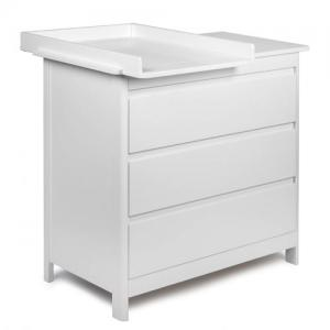 Troll Furniture Lukas Changing Bureau White