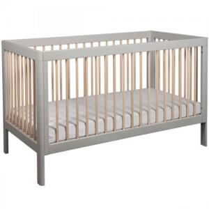 Troll Furniture Lukas Crib Gray/Nature