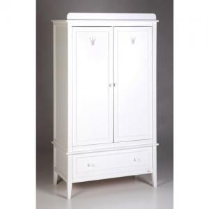 Troll Furniture Royal Wardrobe White