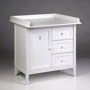 Troll Furniture Royal Changing Table White