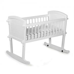 Troll Furniture Traditional Cradle White