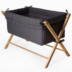Troll Furniture X-Crib Minisäng Gray Incl Mattress