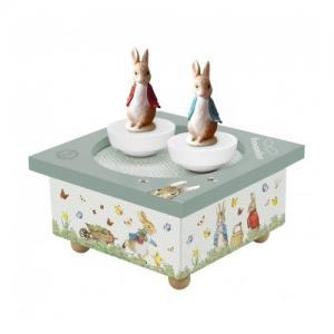 Trousselier Music Box Peter Rabbit