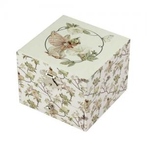 Trousselier Music Box Jewelry Storage Flower Fairies Narcissus