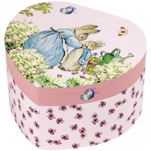 Trousselier Jewllery Box As A Heart By Peter Rabbit