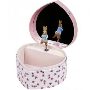 Trousselier Jewllery Box As A Heart By Peter Rabbit