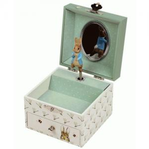 Trousselier Jewellery Box As Dragonfly By Peter Rabbit