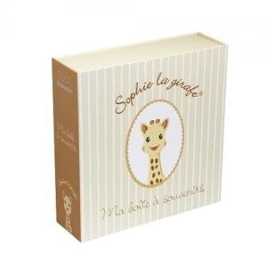 Trousselier Souvenirbox med Speldosa Giraffen Sofie