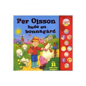 Tukan Förlag Bok Per Olsson Hade En Bonnagård Med 11 Roliga Ljud-Knappar!
