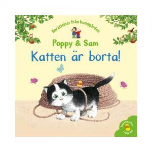 Tukan Förlag Bok Poppy & Sam: Katten Är Borta!
