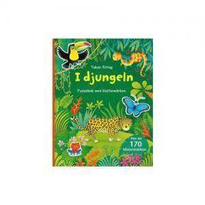 Tukan Förlag In The Jungle Activity Book with Stickers