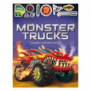 Tukan Förlag Monster Trucks Activity Book with Stickers
