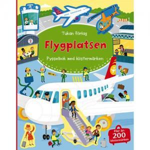 Tukan Förlag Pysselbok Flygplatsen