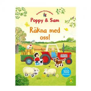 Tukan Förlag Sticker Book Poppy & Sam Count With Us