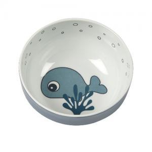 Done By Deer Yummy Mini Bowl Sea Friends Blue