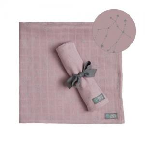 Vinter & Bloom Muslin Blanket Stella Pink 2-pack