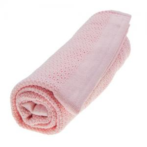 Vinter & Bloom Filt Soft Grid Blossom Pink 100 % EKO Bomull