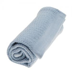 Vinter & Bloom Filt Soft Grid True Blue 100 % EKO Bomull