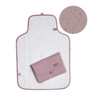 Vinter & Bloom Northern Lights Changing Mat Stella Pink