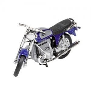Welly Leksaksfordon Formpressad Motorcykel BMW Blå