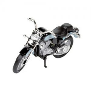 Welly Leksaksfordon Formpressad Motorcykel Honda Turkos